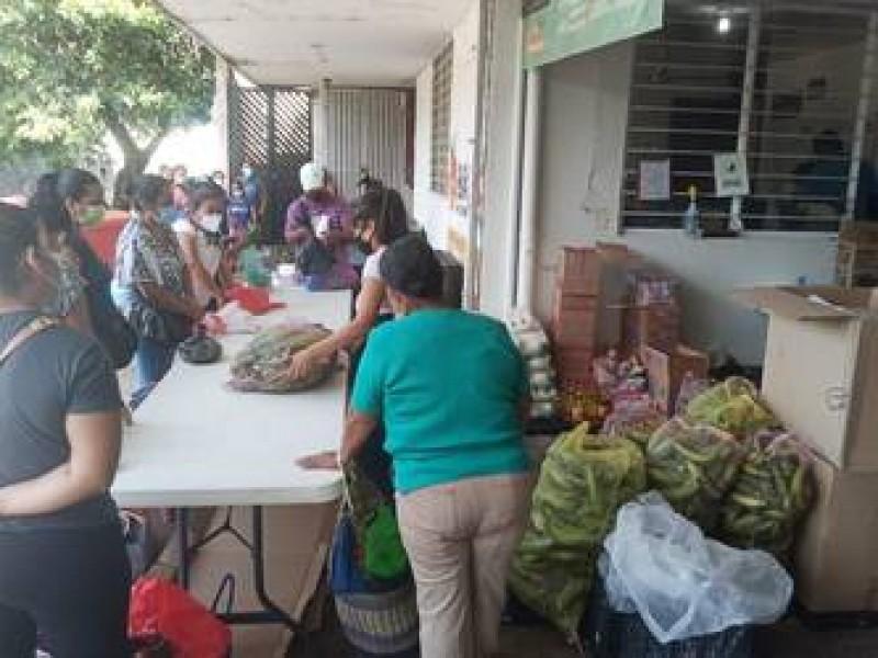 Banco de alimentos apoyará a 100 familias migrantes en Tapachula