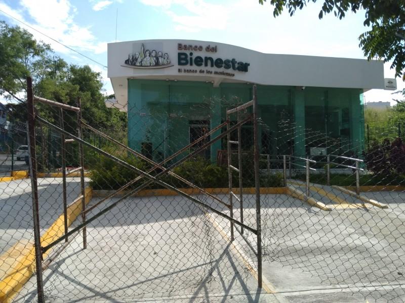 Banco del Bienestar aún sin operar en Chiapas