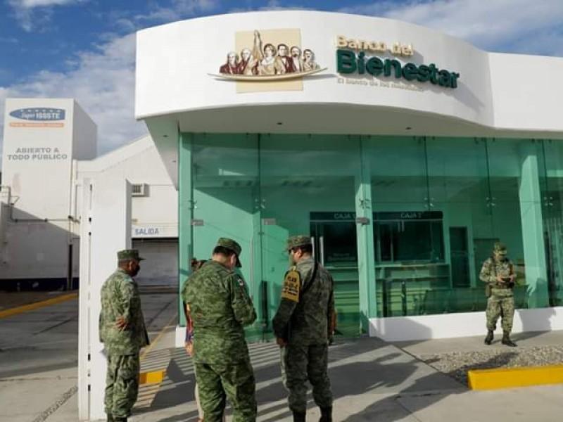 Banco del Bienestar Tehuantepec, primera sucursal en ser concluida