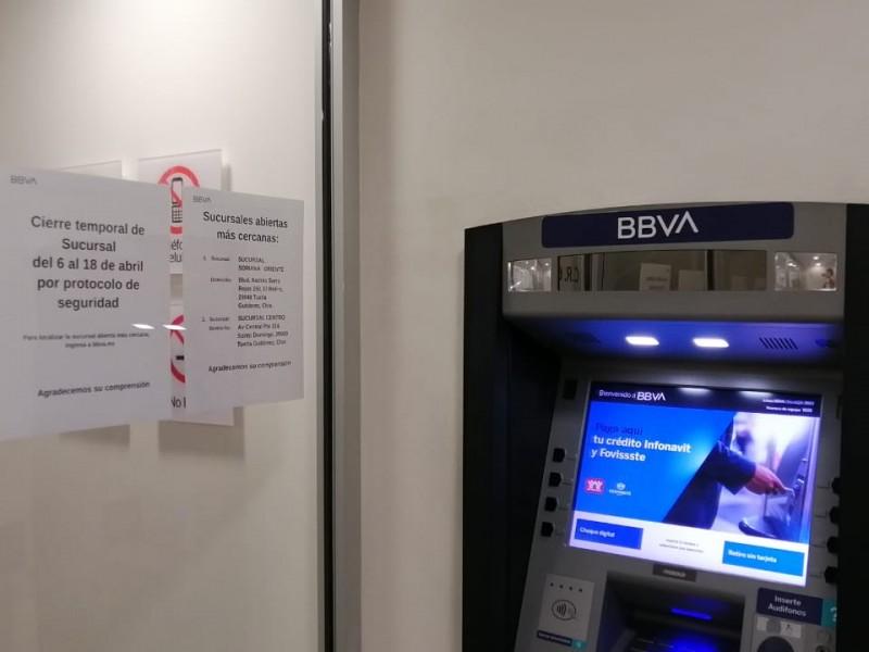 Bancos dejarán de laborar. Regresan 18 de abril