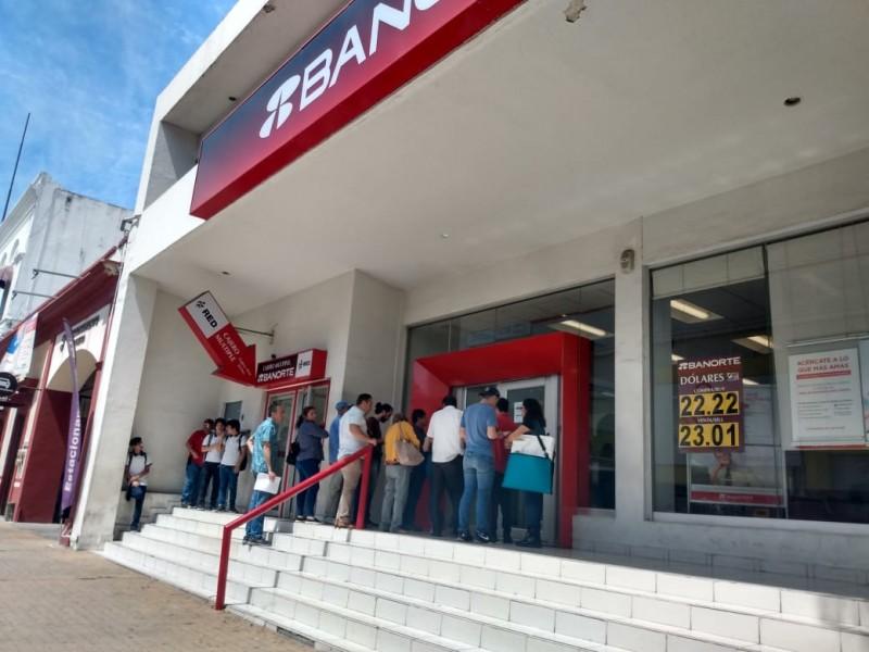 Bancos en Culiacán permanecen operando