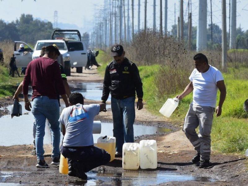 Barbosa destaca reducción de huachicoleo en Puebla