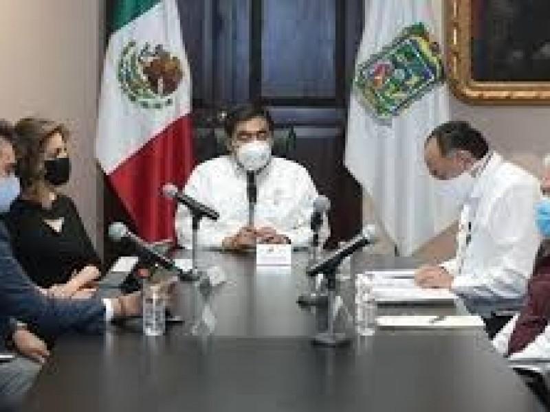Barbosa: Hay contagios en todas las dependencias de gobierno