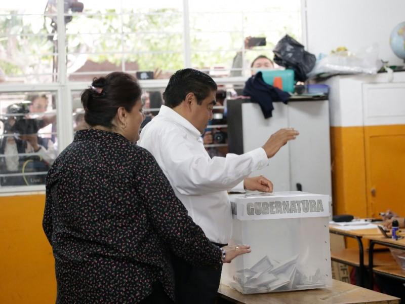 Barbosa se declara ganador en elecciones de Puebla