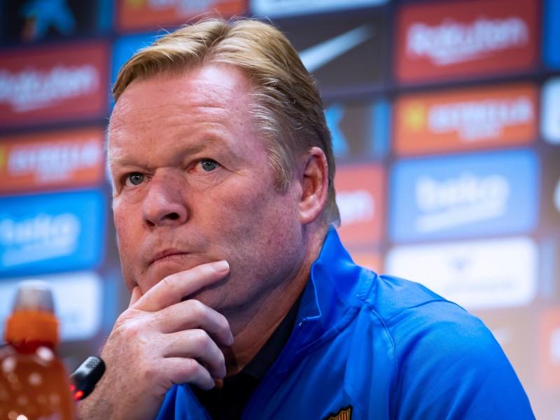 Barcelona destituye a Ronald Koeman tras derrota en Vallecas
