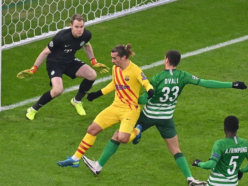 Barcelona peleará liderato de grupo con la Juve