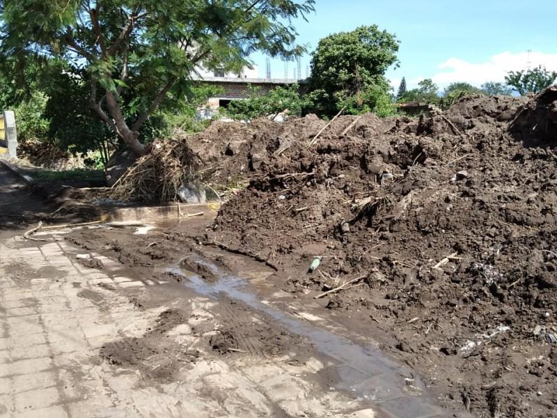 Barranca deja afectaciones en diez casas de comunidad en Huaquechula