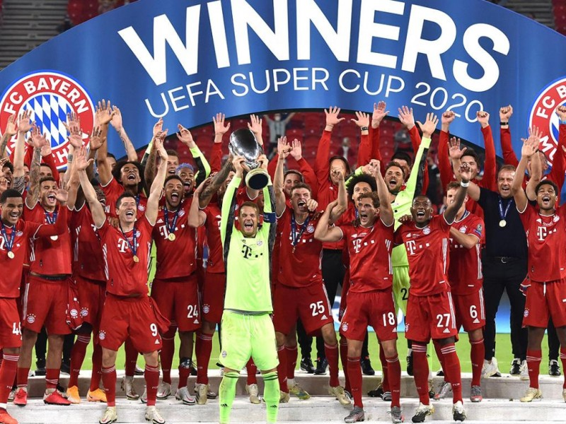 Bayern Munich ganó la Super Copa de la UEFA