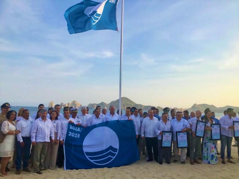 BCS con más playas certificadas Blue Flag