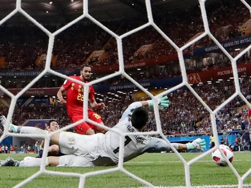 Bélgica con mucho sufrimiento elimina a Japón