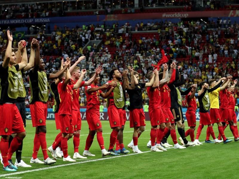 Bélgica despacha a Brasil en cuartos