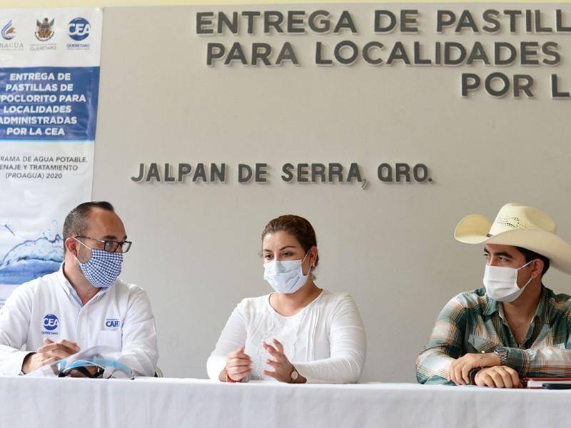 Beneficia a 65 Comunidades Convenio entre Jalpan y la CEA