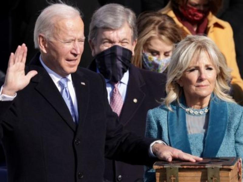 Biden pide unidad, porque sin ella