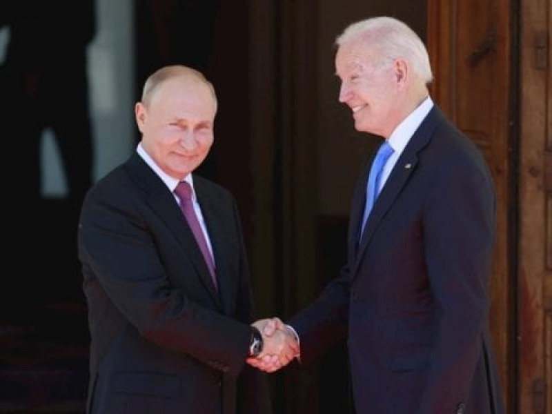 Joe Biden y Vladimir Putin se reúnen en Ginebra