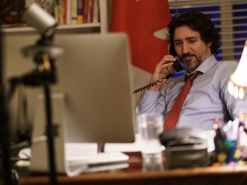 Biden y Trudeau acuerdan reunión en febrero