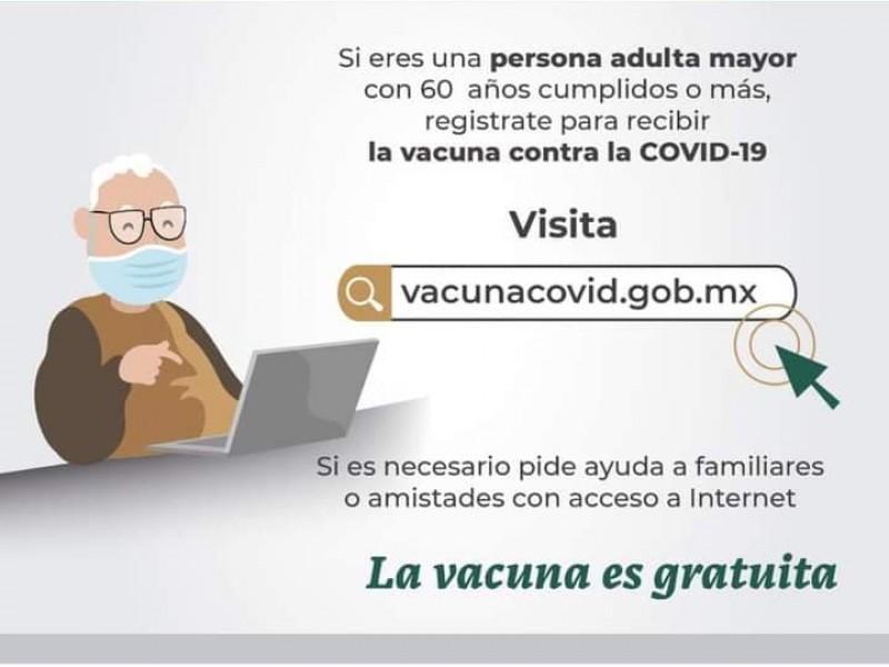 Bienestar Nayarit inicia registro de adultos mayores para vacunación covid