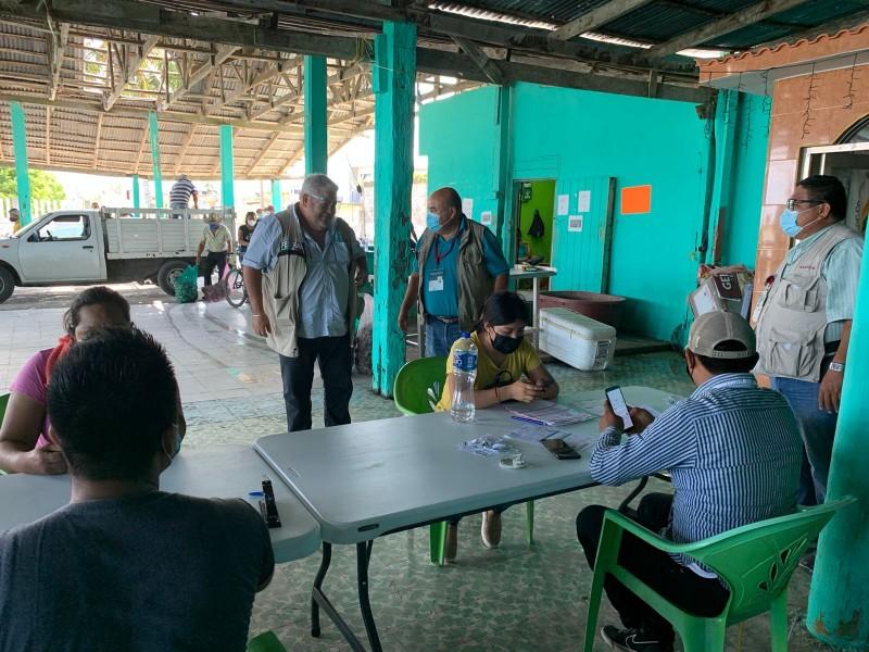 Bienpesca entrega apoyos a pescadores de Tuxpan y Tamiahua