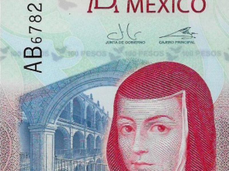 """Billete mexicano es elegido como el """"Billete del Año 2020"""""""