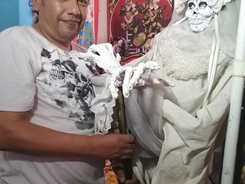 Binxghava, personaje chiapacorceño que alegra festividad del Día de Muertos