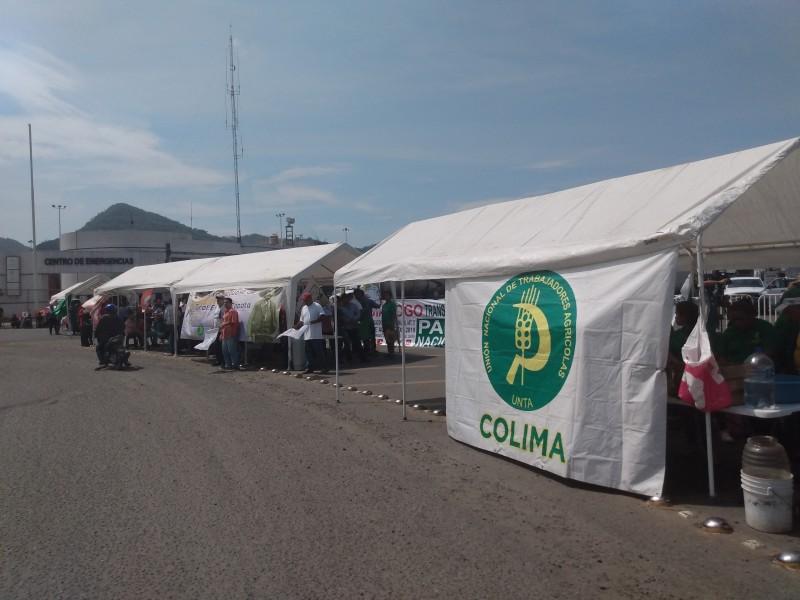 Bloquean la entrada al puerto interior en Manzanillo