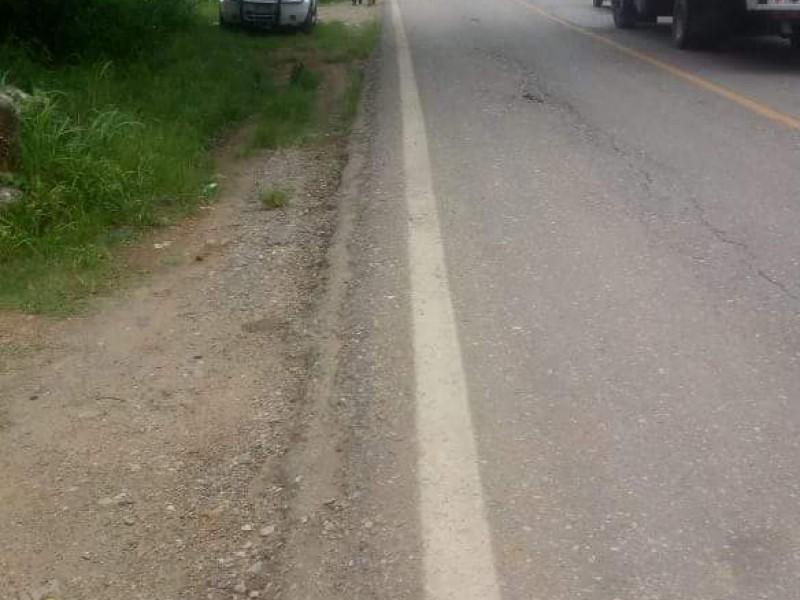 Bloqueo en Frontera Comalapa por parte de habitantes