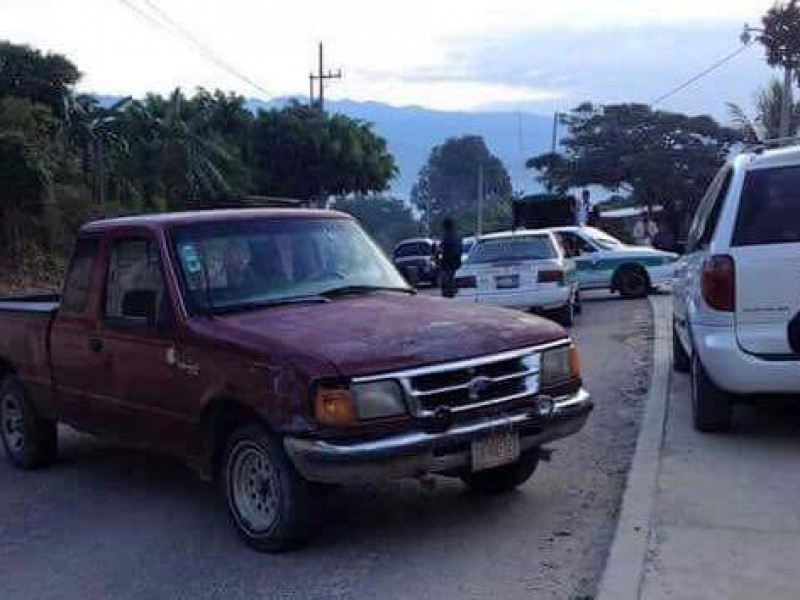 Bloqueos carreteros en Chiapas