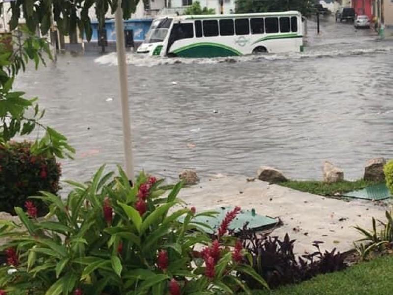 Boca del Río implementa protocolos para evitar inundaciones