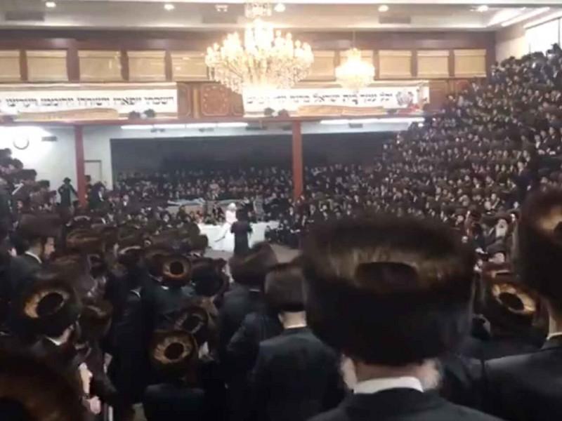 Boda judía congrega 7 mil invitados en Nueva York