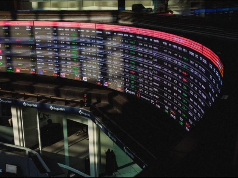 Bolsa Mexicana baja 0.99%, tras consulta sobre NAICM