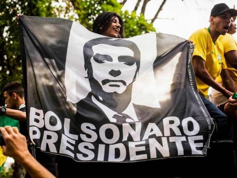 Bolsonaro logra en Brasil votación abrumadora