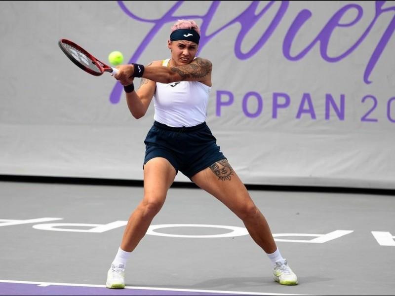 Bolsova y Kovinic se llevan la primera victoria en dobles