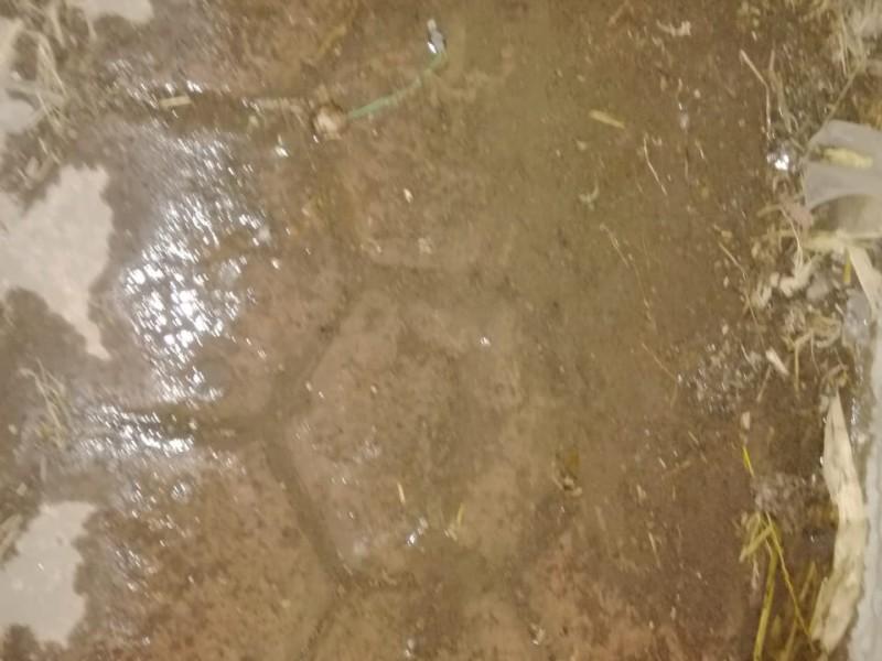 Bomba de agua de Huaquechula desperdicia líquido al dejarla prendida
