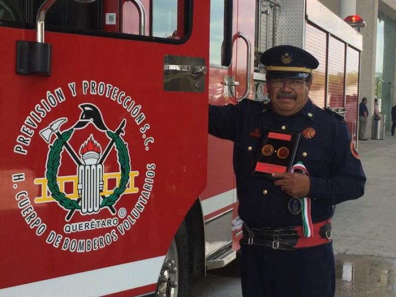 Bomberos de Querétaro, héroes anónimos