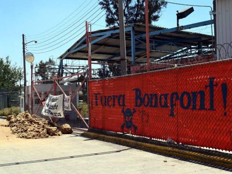 Bonafont pide liberación de instalaciones en Juan C. Bonilla