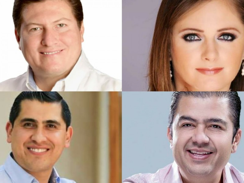 Bonilla, Anaya, Peña y Luévano los aspirantes priistas ala gubernatura