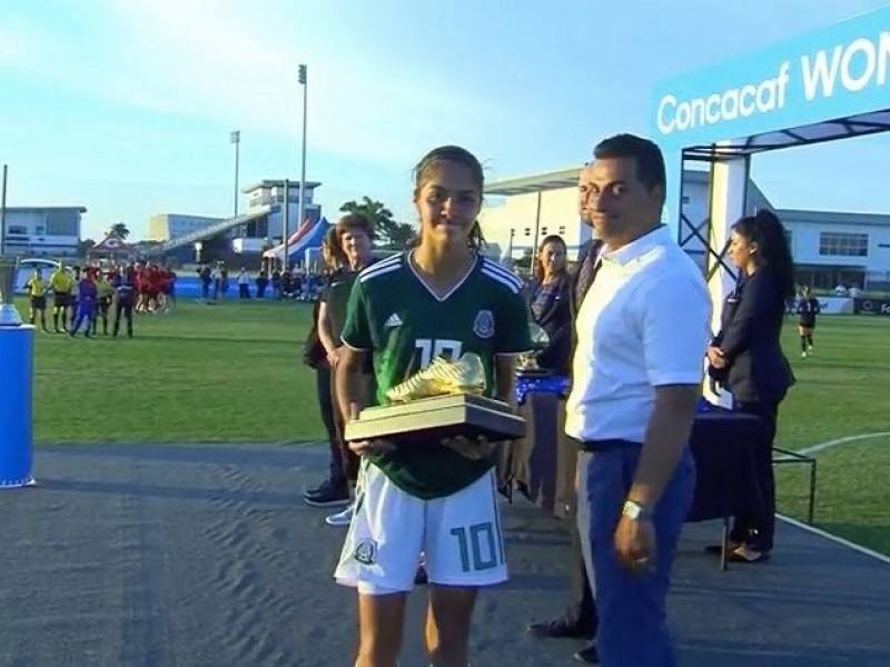Bota de oro para Alison González en Premundial