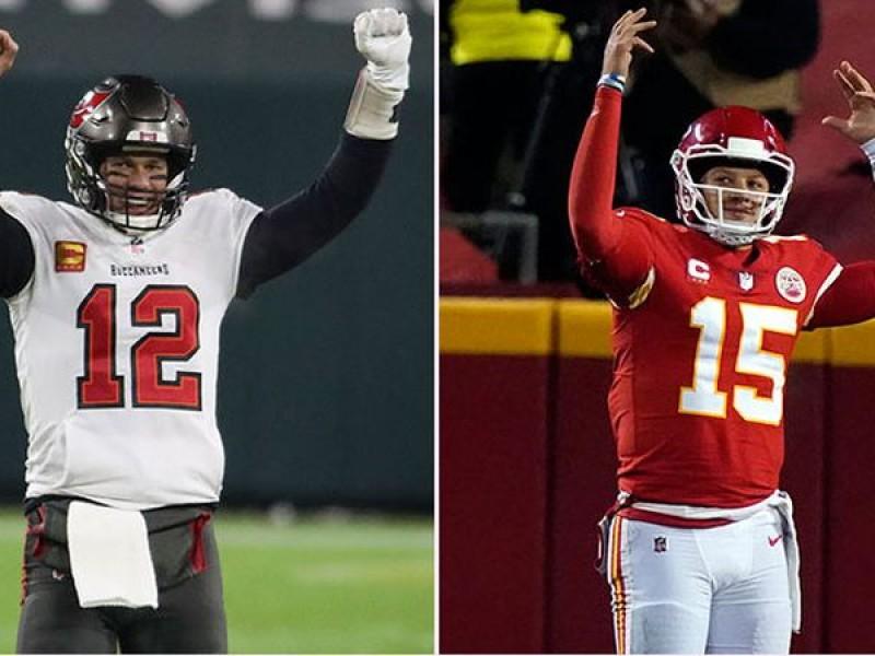 Brady VS Mahomes. Los números hablan.