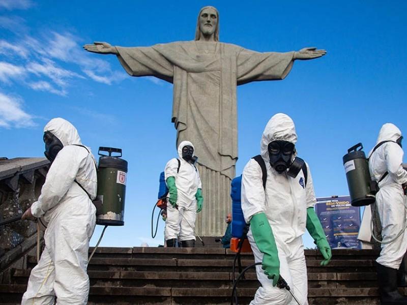 Brasil notifica 42 mil nuevas infecciones Covid-19 en 24 horas