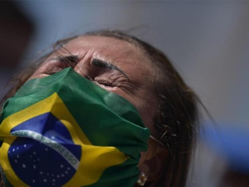 Brasil registra 15 mil 155 casos Covid-19 en 24 horas