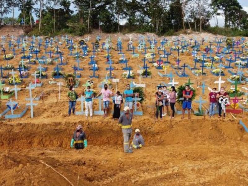 Brasil registra 15 mil nuevos contagios Covid-19 en 24 horas