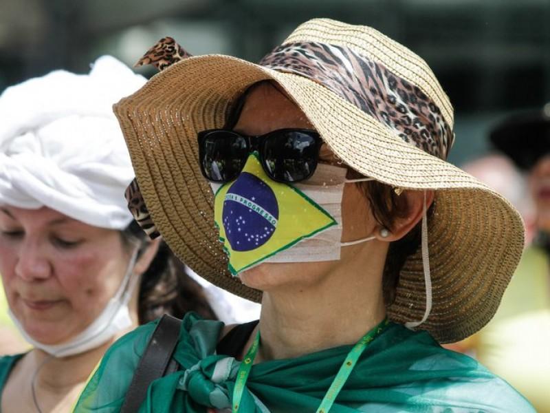 Brasil registra 56 mil nuevos contagios Covid-19 en una jornada