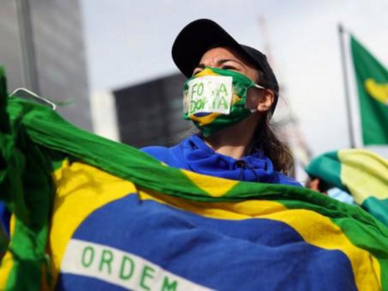 Brasil reporta 20 mil infecciones Covid-19 en 24 horas