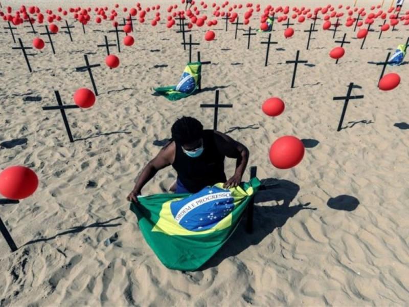 Brasil reporta más de 33 mil nuevos casos Covid-19