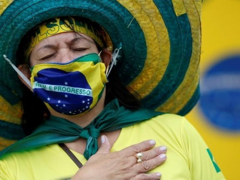 Brasil roza los cuatro millones de casos COVID-19