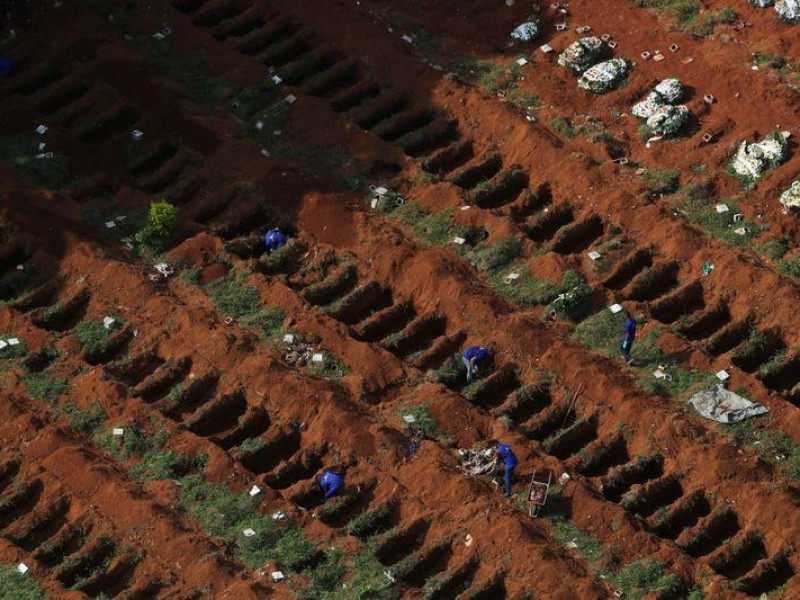 Brasil supera las 200 mil muertes Covid-19