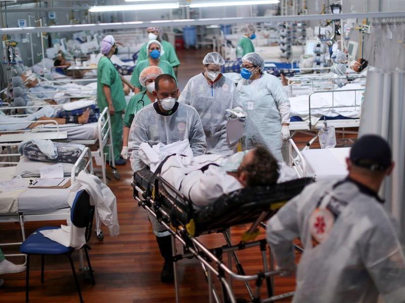 Brasil supera los 15 millones de infecciones por SARS-COV-2