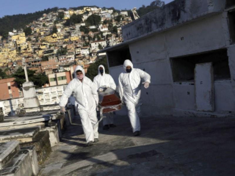 Brasil supera los cuatro millones de infectados Covid-19