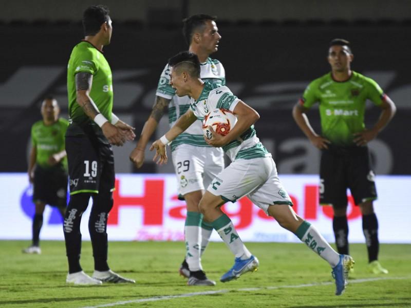 Bravos y Santos dividen puntos en la frontera