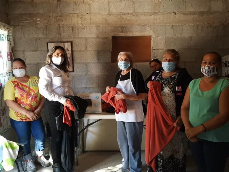 Brinda apoyos DIF Guaymas en Lomas de Colosio
