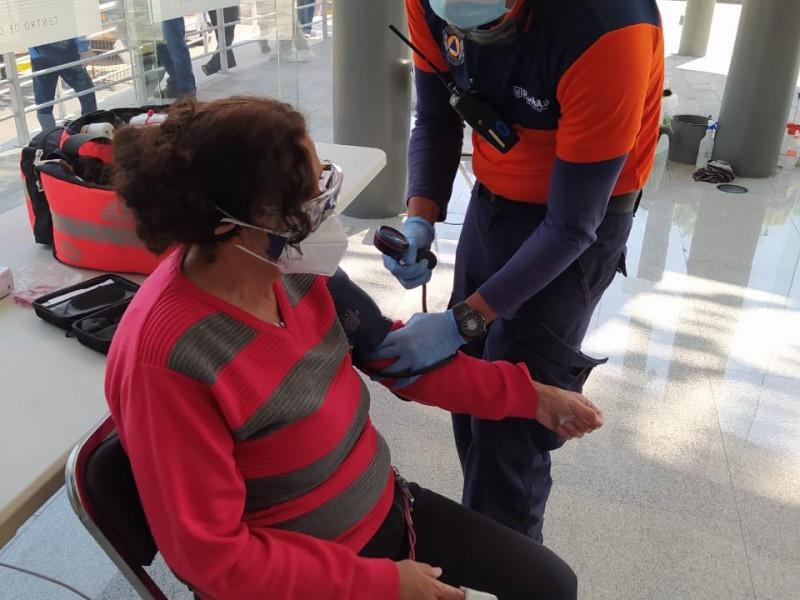 Brinda PC Municipal 60 servicios prehospitalarios durante vacunación anticovid-19